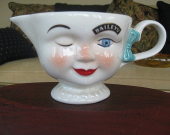 Vintage Bailey's coffee creamer limited edition cup