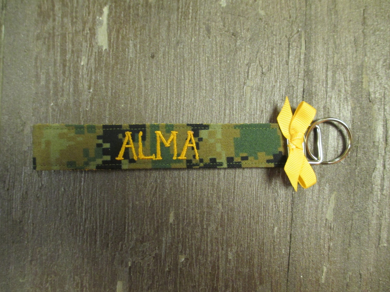Marine Custom Name Tape Key Chain US Marine Corps