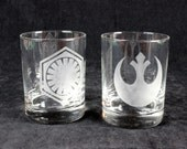 Force Awakens Rock Glasses