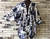 Plus Size Roomy Fleece Shrug/Jacket