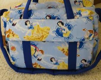 Snow White Diaper Bag with changing pad by EMIJANE