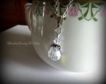 Bridesmaid Necklace: Wedding Necklace, Bridesmaid Jewelry, Wedding Jewelry, Bridal Party Jewelry, Jewelry for Brides, Custom Bridesmaid Gift