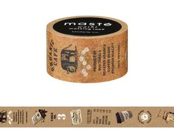 Café Washi Tape • Coffee Masté Masking Tape City Series MST-MKT79-A