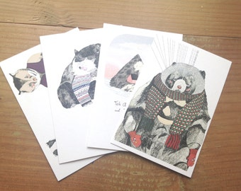 Holiday Postcard Pack