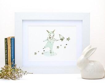 where - Print - 6x8 inches - Nursery art - Nursery decor - Kids room decor - Children's art - Children's wall art - kids wall art