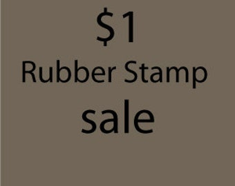 Tiny rubber stamp sale