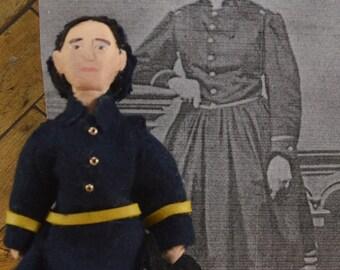 Civil War Doctor Mary Edwards Walker Women In History Miniature Doll