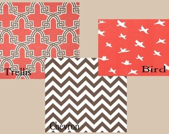 Custom Duvet and Shams- other colors/Patterns available