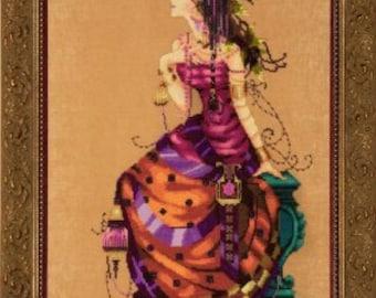 The Gypsy Queen Counted Cross Stitch Pattern, by Nora Corbett, Mirabilia Designs, WI