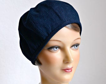 Women's Beret - Denim Beret Hat