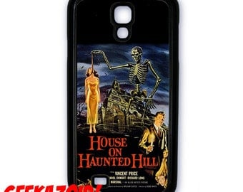 The House on Haunted Hill Vincent Price Movie Poster Cell Phone Case for iPhone and Samsung Galaxy