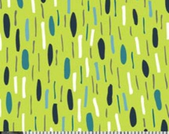 SALE VeloCity CityLights Lime - 1/2 Yard