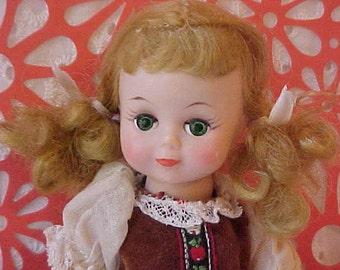 """Vintage 1950's Madame Alexander-Kin Walker """"Alex"""" Doll"""