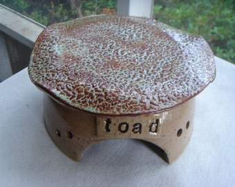 Garden Toad House or Garden Decoration