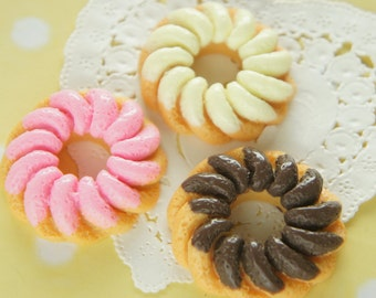 6pcs Huge Doughnut Cabochon (40mm) CD675 (((LAST)))