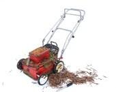Ye Olde Lawn Mower for Miniature Garden, Dollhouse Miniature Garden, or Fairy Gardens, Grass Included, Rebuilt Motor, May Not Run