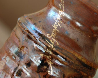 For the Love of Things That Grow Elvish Script Vase