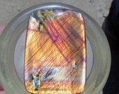30% off Summer Destash Madagascar Labradorite Cabochon Flashy Orange Peach Blue Royal Purple Green