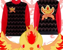 Lengendary Pokemon  jacket , Zaptos Tee Top, Articuno , Moltres jacket, Pokemon Team Valor, Pokemon Team Mystic, Pokemon Team Instinct