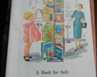 """Vintage Pages  """"Dick and Jane"""" 1962"""