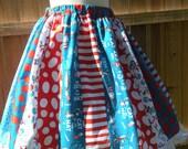 Ready to Ship Custom Dr Seuss Women Tween Teacher Librarian Full Skirt 23 inches long
