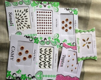 7 Packs of Mixed Bindis