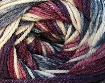 Grapes Cascade Heritage Prints Yarn 437 yards Super Fine Wool Nylon Sock Yarn Color 43