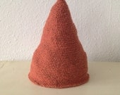 Whimsical woodland Pointy Elf Pixie Wool Beanie Hat