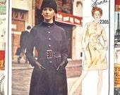 Vintage 1970s Guy Laroche Dress Pattern  - Vogue 2305