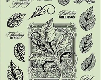Botanical Leave Stamp Set Hot Off The Press