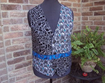 Dr Who adult vest--Med size--only one like this