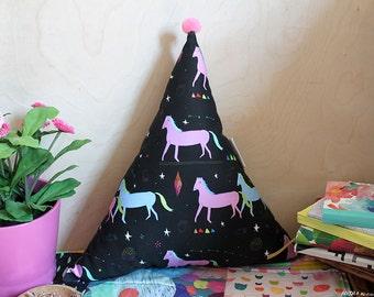 Ponies Pattern Triangle Plush