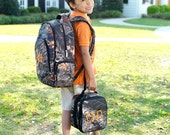 Monogrammed Backpack or Lunch box