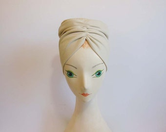 1950s hat / Temptress in a Turban Vintage 50's Hat Mommy Dearest