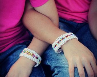 Download Now - CROCHET PATTERN Friendship Bracelets - Any Size - Pattern PDF