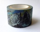 Swedish and Norwegian Landscape : Japanese Washi Masking Tape One Roll (Large) = The Collection of Beautiful Mountains