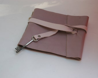 Light Pink  Leather Instagram Photo Album by Binding Bee
