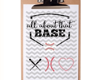 INSTAND DOWNLOAD - All About That Base Baseball Designs - SVG