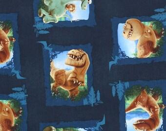 Disney's The Good Dinosaur Blocks Fabric BTY