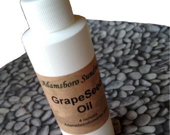 4 oz Grape Seed Oil