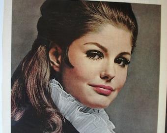 COS-131   Revlon Moon Drops Lipstick Ad  -  1967