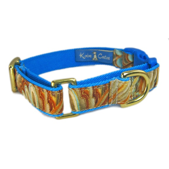 buckle martingale dog collar combo dog collar by kninecouture