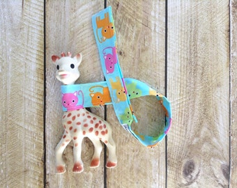 Baby Toy Leash - Kitty Toy Strap - Baby Accessory - Baby Gift - Cat