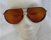 Vintage Aviator Sun Glasses
