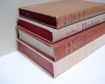 Instant book collection - neutrals - set of 4 hardback books