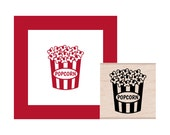 NEW for 2016 Popcorn Rubber Stamp