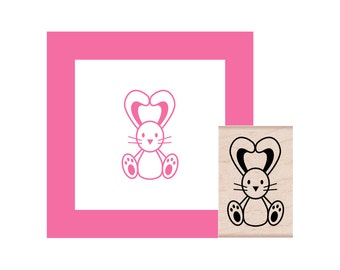 Bunny Rubber Stamp
