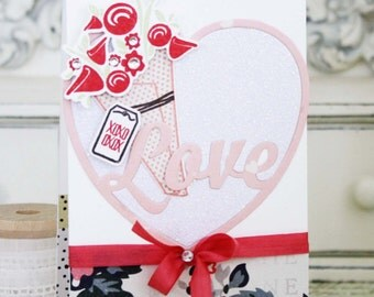 XOXO...Handmade Anniversary Card