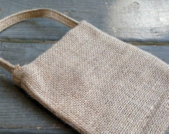 Burlap Bags - Wedding Favor Bags - Burlap Bag with Handle - Burlap Gift Bag - Wedding Supplies - Burlap Favor Bags
