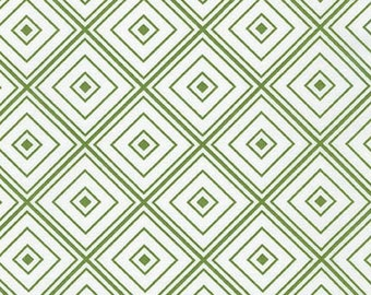 One (1) Yard- Metro Living Diamond Robert Kaufman Fabrics SRK-15082-47 Grass